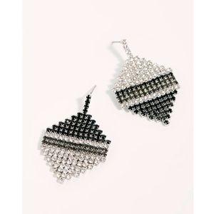 NEW Free People Aria Asymmetric Earrings